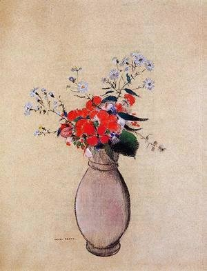 Odilon Redon - Bouquet of Flowers II