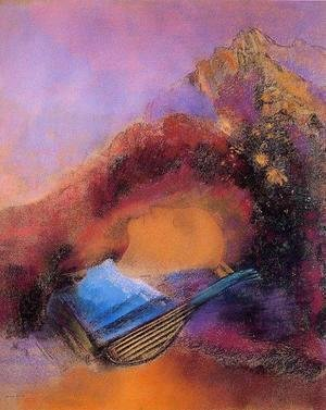 Odilon Redon - Head of Orpheus
