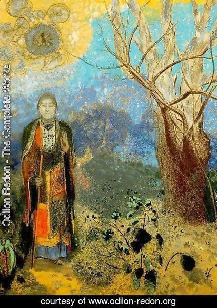 Odilon Redon - The Buddha 2