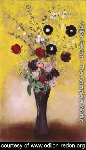 Odilon Redon - Vase of Flowers 2