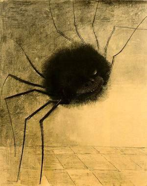 Odilon Redon - The Smiling Spider