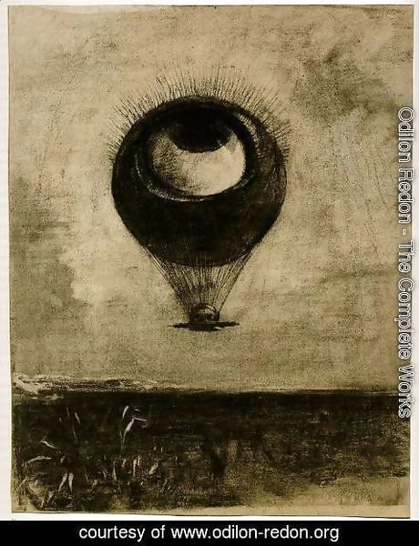 Odilon Redon - Eye-Balloon