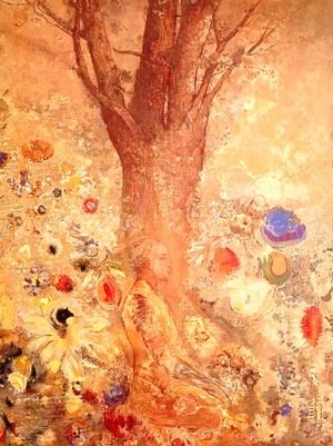 Odilon Redon - Buddha in His Youth