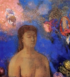 Odilon Redon - Closed Eyes 3