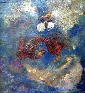 Odilon Redon - Dragon Fight