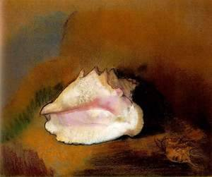 Odilon Redon - La coquille (The Seashell)