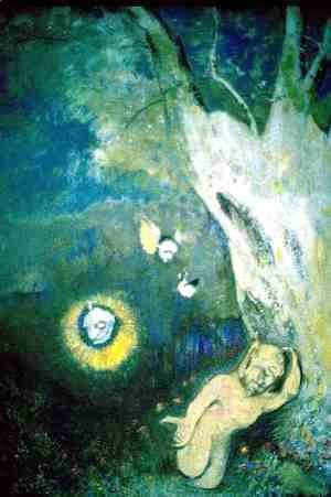 Odilon Redon - Sleep of Caliban