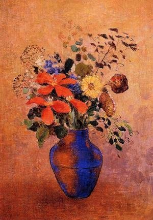 Odilon Redon - Vase of Flowers 01