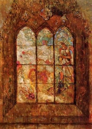Odilon Redon - Stained Glass Window