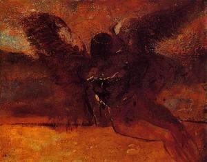 Odilon Redon - The Fall of Icarus