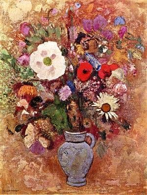 Odilon Redon - Vase of Flowers 1903-1905