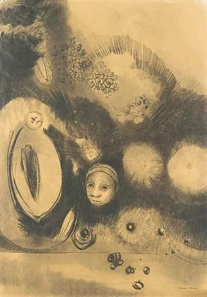Odilon Redon - Visage - Germination