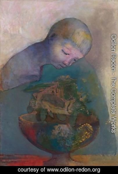 Odilon Redon - La Coupe Du Devenir (L'Enfant A La Coupe)
