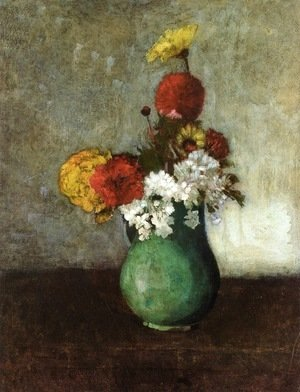 Odilon Redon - Vase of Flowers 3