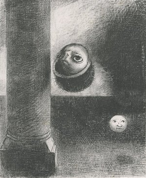 Odilon Redon - There were also embryonic beings