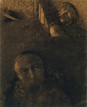 Odilon Redon - Faust and Mephistopheles