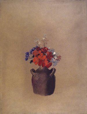 Odilon Redon - Flowers in a Vase
