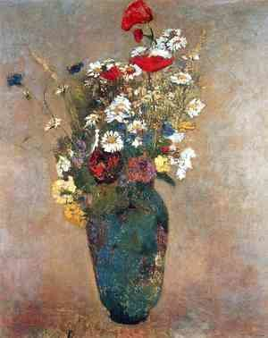 Odilon Redon - Vase with flowers 2