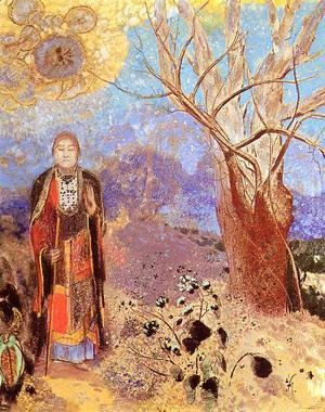 Odilon Redon - The Buddha 3