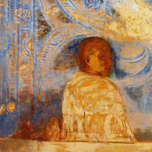 Odilon Redon - The Glance
