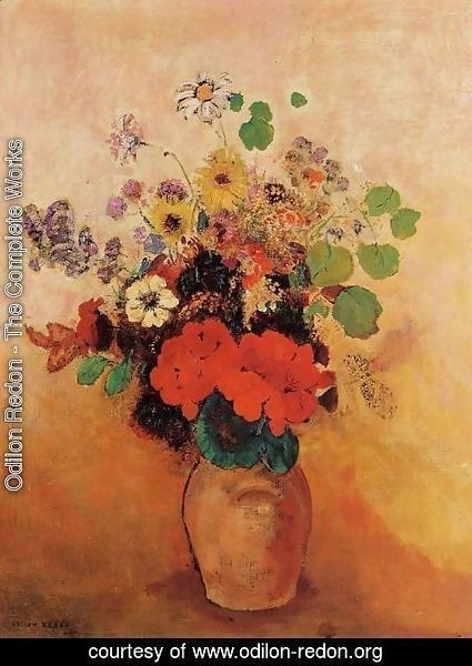 Odilon Redon - Vase of Flowers 4
