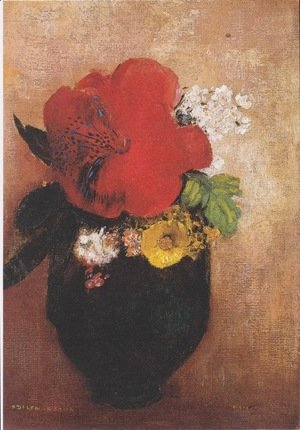 Odilon Redon - The Red Poppy