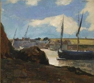 Odilon Redon - The Port of Morgat