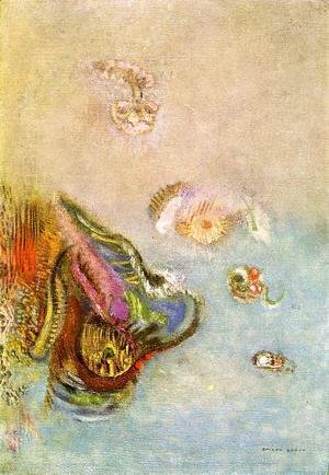 Odilon Redon - Animals Of The Sea