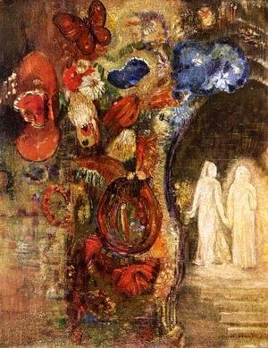 Odilon Redon - Apparition