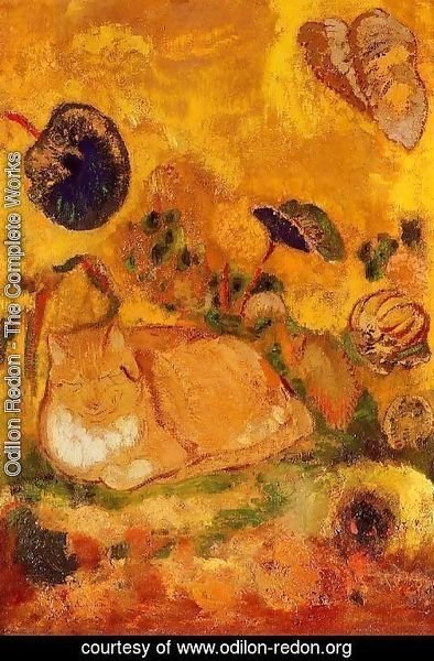 Odilon Redon - Bazon  The Artists Cat