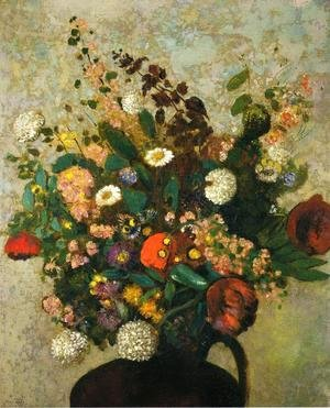 Odilon Redon - Bouquet Of Flowers3