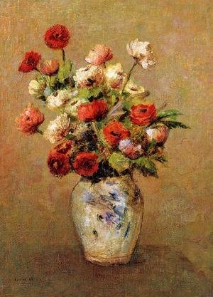 Odilon Redon - Bouquet Of Flowers4