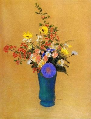 Odilon Redon - Bouquet Of Wild Flowers