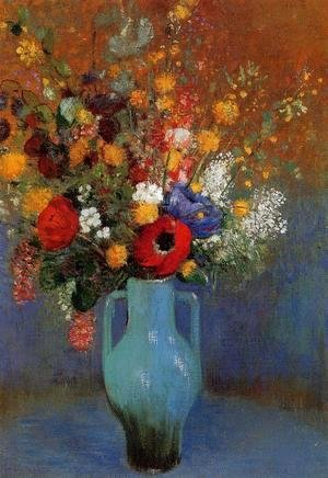 Odilon Redon - Bouquet Of Wild Flowers 2