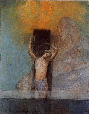Odilon Redon - Christ On The Cross