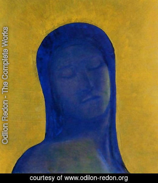 Odilon Redon - Closed Eyes2