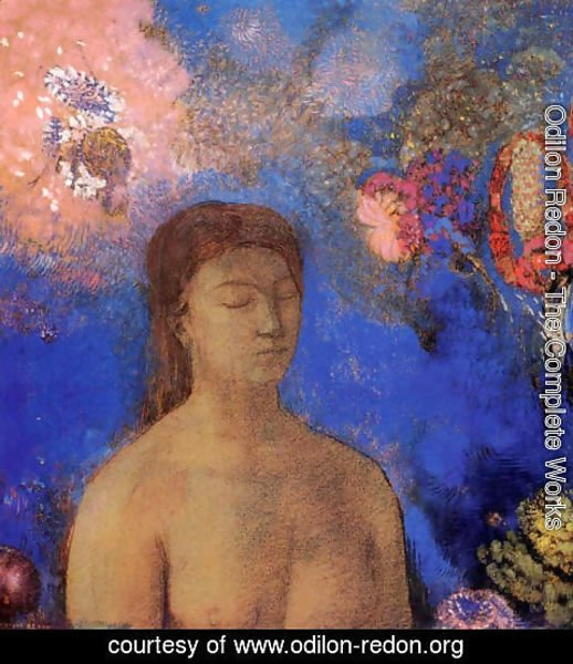Odilon Redon - Closed Eyes4