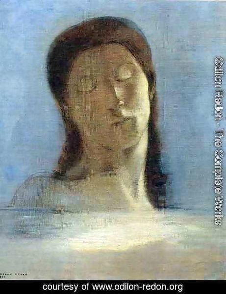 Odilon Redon - Closed Eyes5