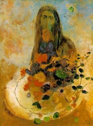 Odilon Redon - The Complete Works - Mysterious Head - odilon