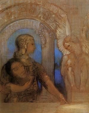 Mystical Knight (Edipus and the Sphinx) 1894