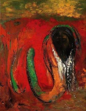 Odilon Redon - Onnes Aka Christ And The Serpent