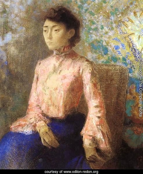 Portrait Of Jeanne Chaine