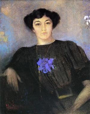 Portrait Of Madame Gustave Fayet