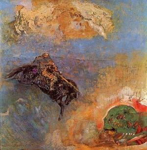 Odilon Redon - Roger And Angelica