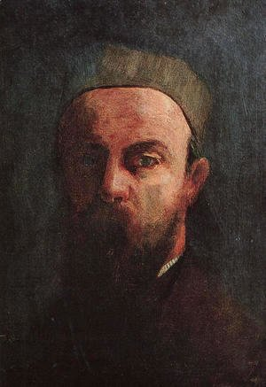 Odilon Redon - Self-Portrait 1880