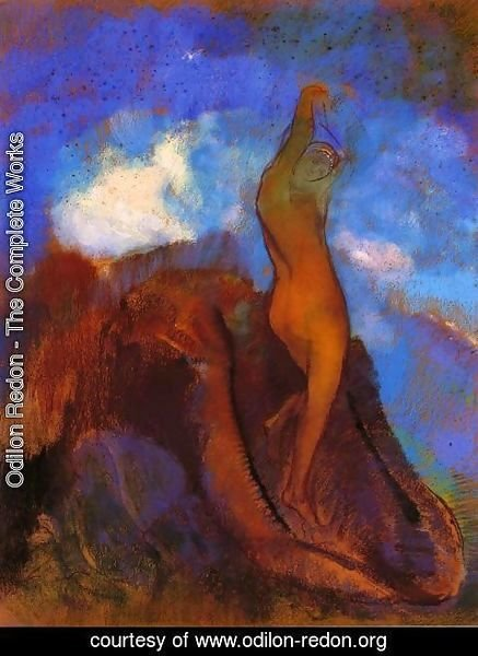 Odilon Redon - The Birth Of Venus3