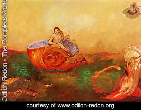 Odilon Redon - The Birth Of Venus5
