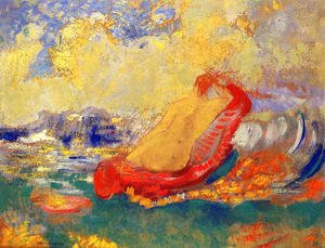Odilon Redon - The Birth Of Venus6