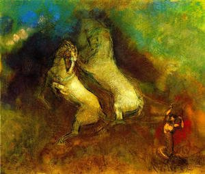 Odilon Redon - The Chariot Of Apollo3