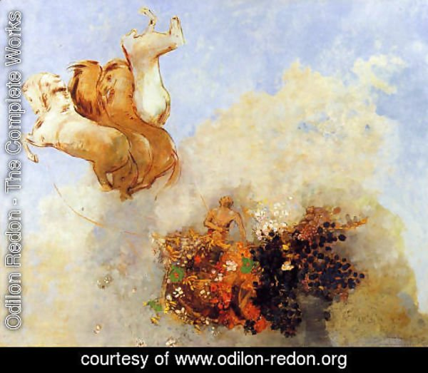 Odilon Redon - The Chariot Of Apollo4
